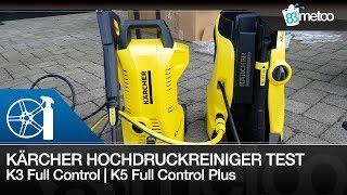Auto waschen mit Kärcher Hochdruckreiniger Test | K3 Full Control | Kärcher K5 Full Control Plus