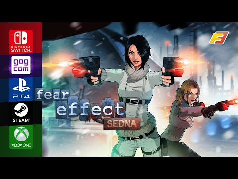 Fear Effect Sedna - Release Date Announcement Trailer thumbnail