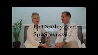 Cathy Shea with Dr. Bruce Dooley, MD