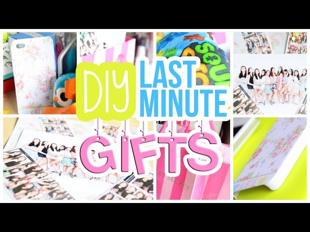 Quick Birthday Gifts For Her Easy Diy Last Minute Gift Allsite