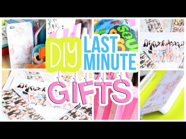 Diy Last Minute Birthday Gifts Best Friend