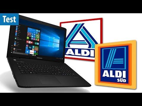 ALDI-Notebook im Test - taugt das Medion P7648 zum Zocken? | deutsch / german