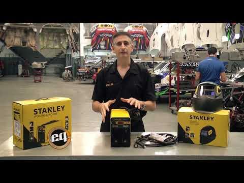 STANLEY: Soldadora inverter MMA de 200 A