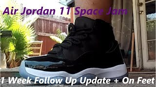 2083ed812801a8 Download Lagu DH Gate Review Air Jordan 11 Space Jam 1 Week Follow Up + On  Feet - GRATIS Cepat Mudah