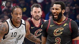 San Antonio Spurs vs Cleveland Cavaliers - Game Highlights    March 8, 2020   2019-20 NBA Season