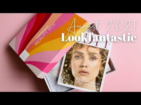 Lookfantastic Beauty Box Unboxing August 2021