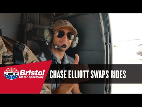 Chase Elliott swaps rides with Tenn. Army National Guard
