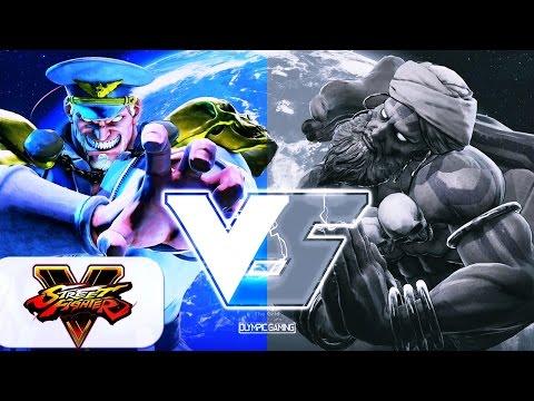 Tampa Bison (M. Bison) Vs TS Sabin (Dhalsim) [Street Fighter 5] [Gameplay]