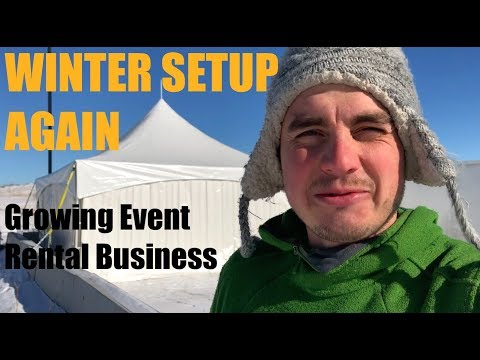 No More Winter Tent Setups? - Growing Event Rental Business