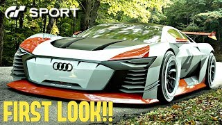 GT SPORT - Audi Vision GT Gr.X REVIEW