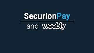How to start accepting donation payments on Weebly - SecurionPay