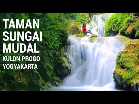 Wisata Alam Air Terjun Taman Sungai Mudal Kulon Progo Yogyakarta