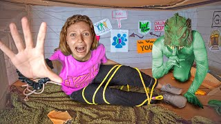 Trapped in Underground Bunker by Pond Monster Twins!!! (NEED YOUR HELP!!)