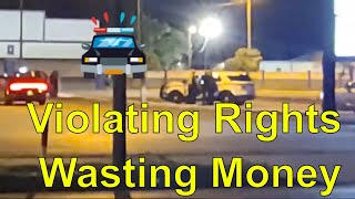 DUI CheckPoint Tampa PD, Tyrants Violating Rights---CopWatch 1st Amendment Right to record !!