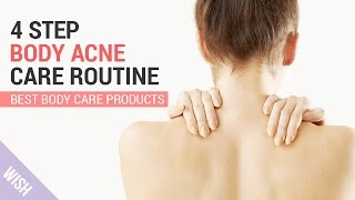 How to Get Rid of Body Acne | Wishtrend