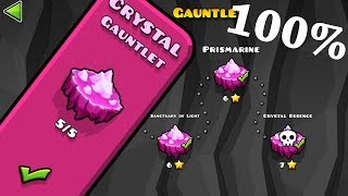 Geometry Dash - Crystal Gauntlet [All Levels 100%]