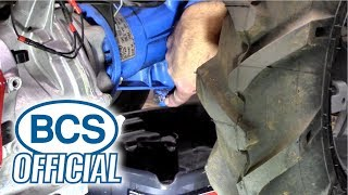 Changing the Transmission Oil in a STANDARD BCS Tractor