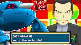GIOVANNI IS LITERALLY OVERPOWERED!   Pokemon MMO
