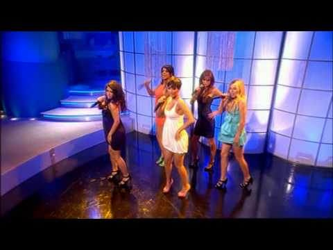 The Saturdays - If This Is Love (Live @ Loose Women 24/07/2008)