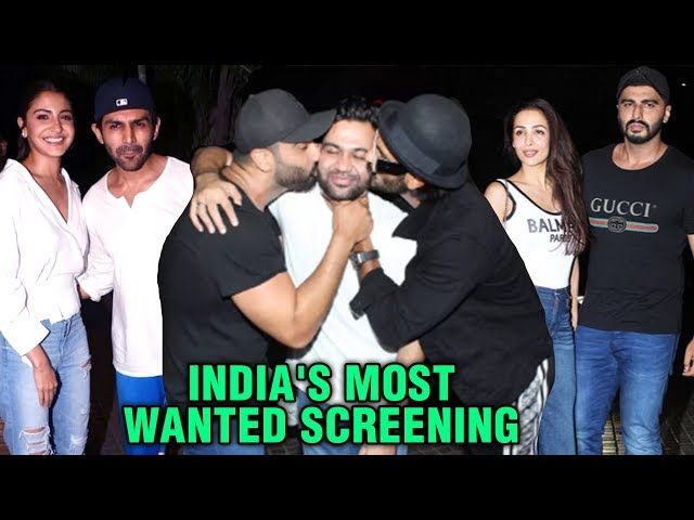 Ranveer Singh - Anushka Sharma, Janhvi Kapoor, Malaika - Arjun | India's Most Wanted Full Screening