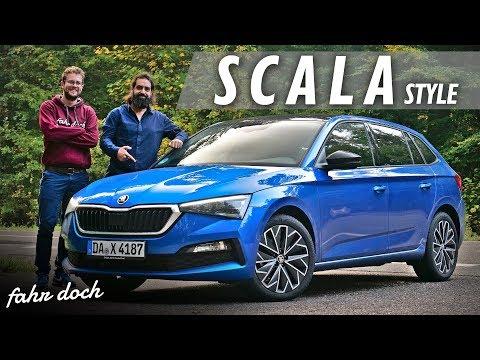 "So gut wie GOLF? SKODA SCALA 1.5 TSI DSG ""Style"" 2019 | Review und Fahrbericht | Fahr doch"