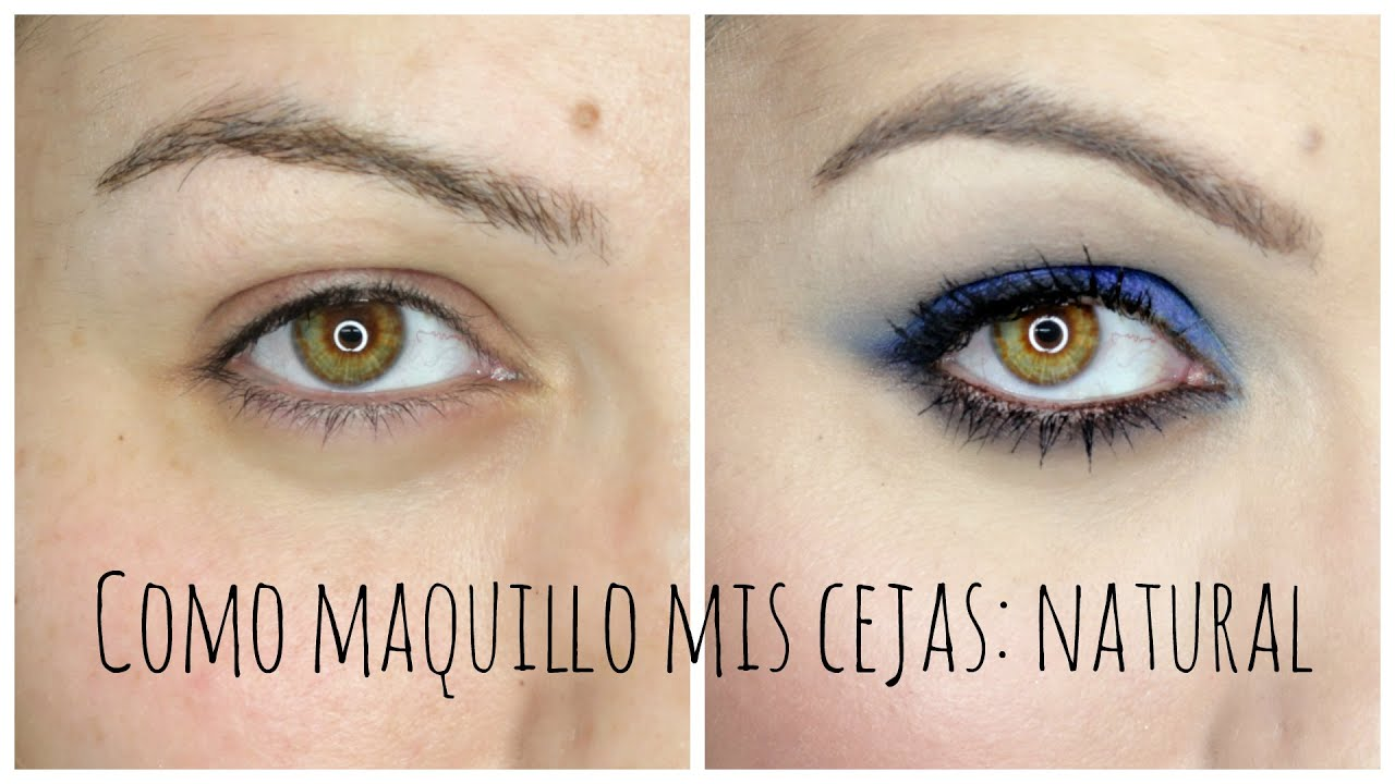 Como maquillar las cejas: natural y SORTEO!