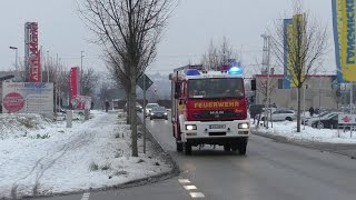 preview picture of video 'HLF 20/16 Feuerwehr Bruchsal'