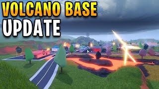 New Volcano Base Part 1 Update is here! | Roblox Jailbreak