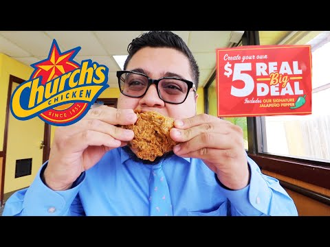 Church's Chicken $5 Real Big Deal is Back! – Fast Food Review – Full Nelson Eats A Lot
