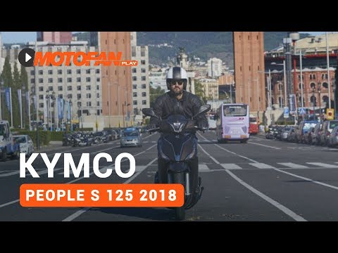 Vídeos Kymco People S 125