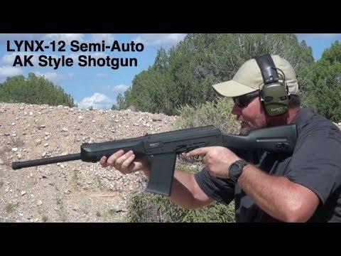 SDS Imports Lynx-12 Semi-Auto AK Style Shotgun Has A Niche