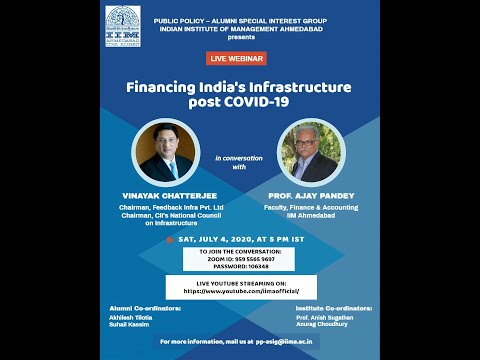 Financing India's Infrastructure Post COVID-19