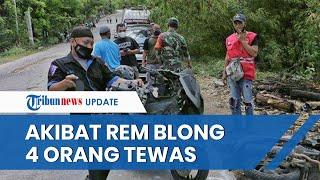Truk Tangki di Semarang Alami Rem Blong, Kecelakaan Maut Tak Terhindarkan hingga 4 Orang Tewas