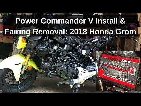 Download 2017 Honda Grom Power Commander V Ecu Install Video 3GP Mp4