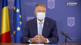Iohannis: Fac din nou apel la cetăţeni să fie prudenţi şi să respecte cu stricteţe regulile în vigoare