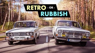 Retro Or Rubbish? Cool Communist Cars Of The Soviet Union   Carfection 4K