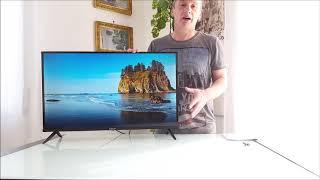 Smart Tv Caixun EC32S2N, 2020 Smart TV LED HD, 32 Pollici Dvb T2 e Sat. Veloce nel cambio canali