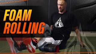 Foam Rolling For Basketball with Coach Alan Stein by EGTBasketball