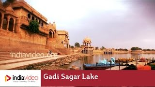 Gadi Sagar Lake in Jaisalmer - A man-made marvel