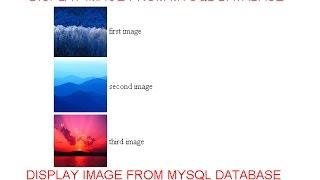 display image from mysql database in php in hindi