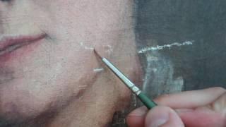 Fine Art Restoration - The Retouching Process