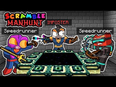 Manhunt IMPOSTER! (Speedrunners vs Hunter?)