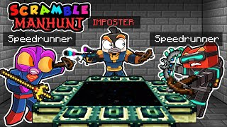 Manhunt IMPOSTER! (Speedrunners vs Hunter?)