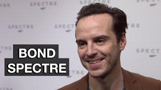 Andrew Scott Interview - Bond 24 Spectre