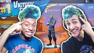I pretended to be Ninja's 'Lost' Son for 1 day in random games...