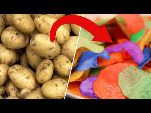 RAINBOW POTATO CHIPS- DIY Test #5