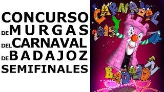 preview picture of video 'Semifinales Concurso de Murgas Carnaval de Badajoz 2015 (1er día)'