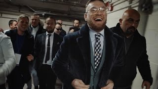 Conor McGregor returns to MSG to walk out Michael Conlan #TheMacLife