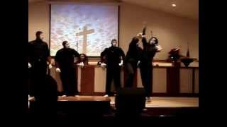 Bruthas~N~Motion Mime Team Minister with 'God Held Me Together', by Zacardi Cortez