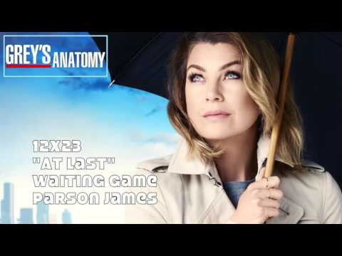"Grey's Anatomy Soundtrack - ""Waiting Game"" By Parson James (12x23) Mp3"